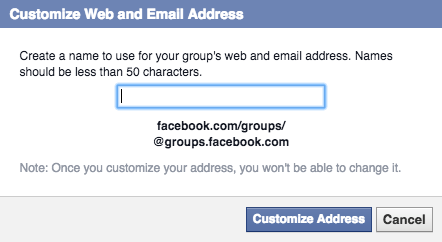 How to Create a Custom URL for Your Facebook Group