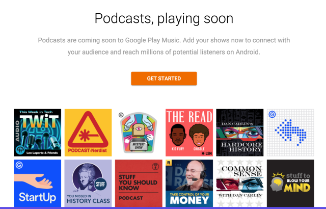 Google Play Podcasting