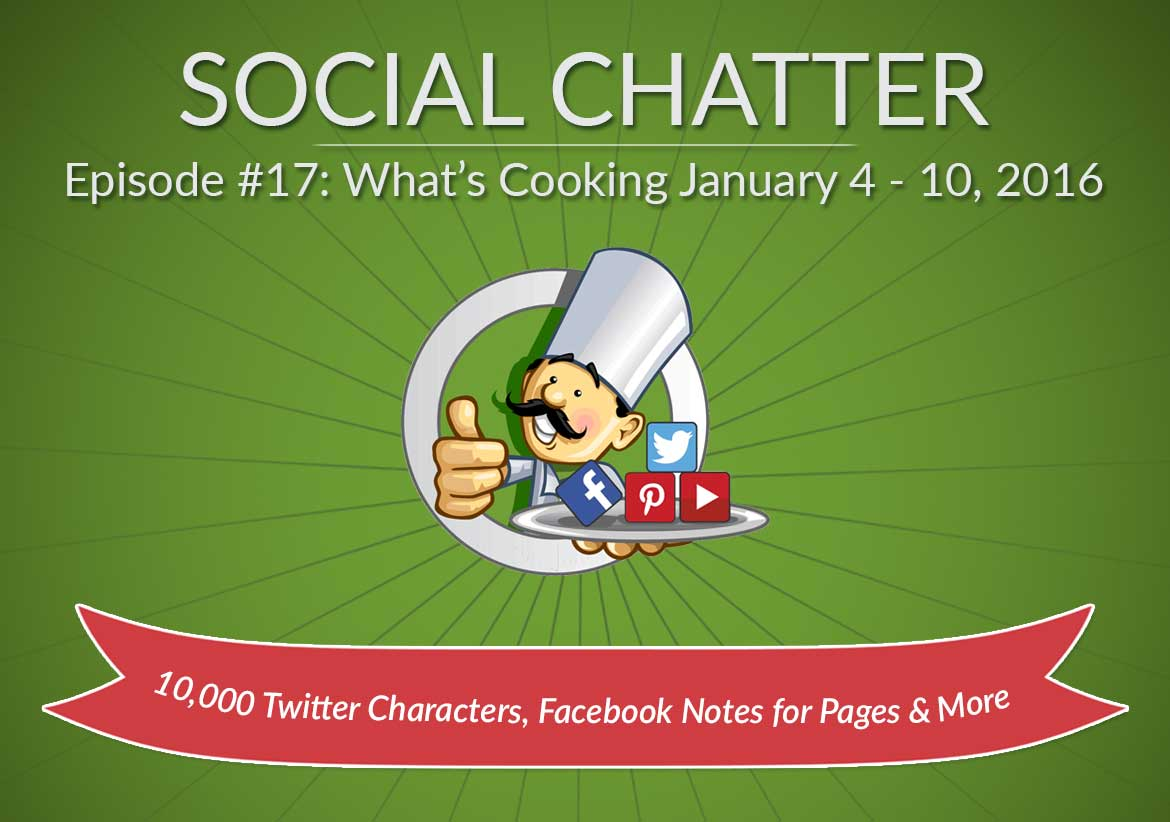 Social Chatter: Episode 17 - Featured