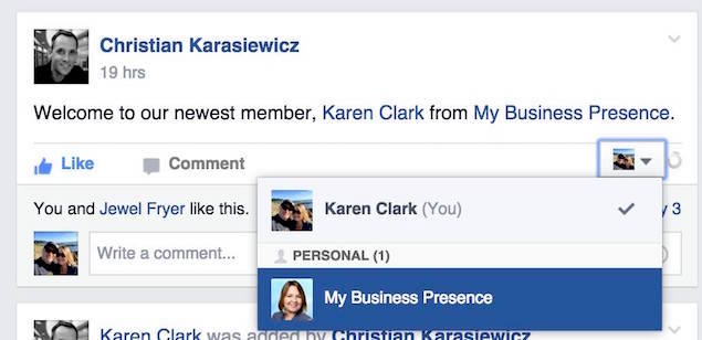 Facebook Page Tagging In Facebook Groups