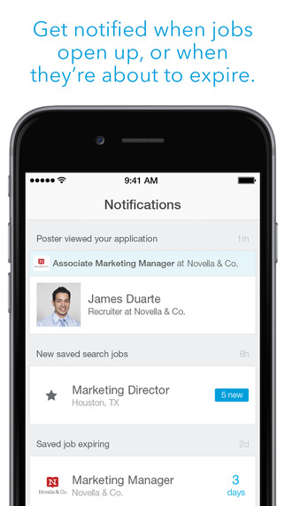 LinkedIn Job Search App - iOS
