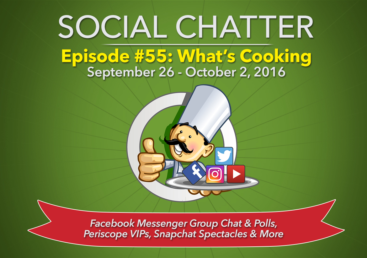 Social Chatter: Episode 55 - Featured