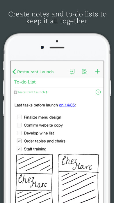 Evernote - iOS