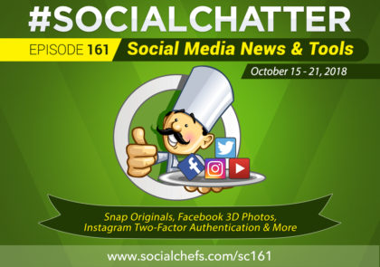 Social Chatter: Episode 161 - Featured