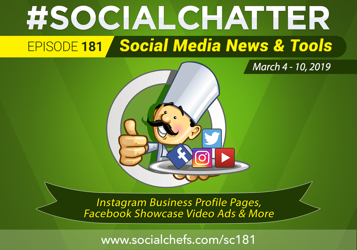 Social Chatter: Episode 181 - Featured