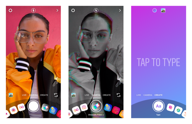 Instagram Stories - Create Mode